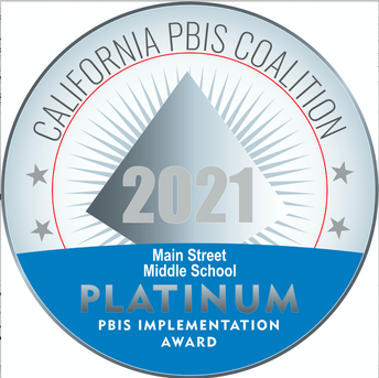 MSMS Obtains the Highest State Level Recognition for PBIS: Platinum