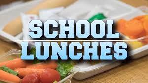 School Breakfast and Lunch Menus