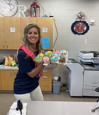 Happy Birthday to Mrs. Hodge!