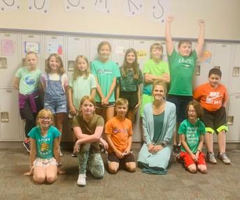 Mrs. Luedke's 5th Grade