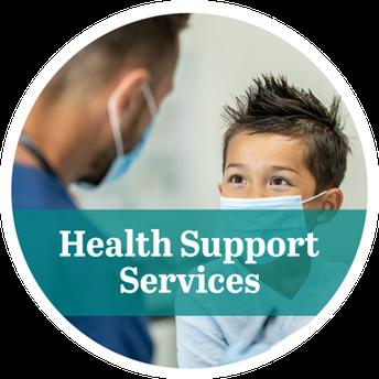 Servicios de apoyo a la salud