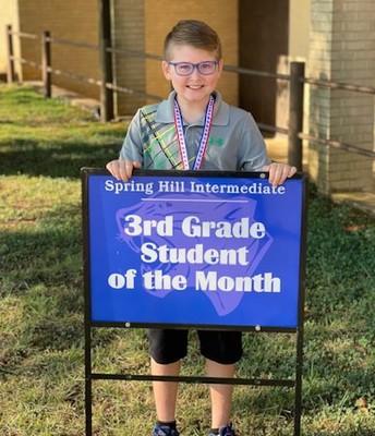 3rd grade - Harrison Phelps