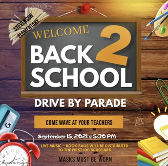 Drive By Parade ~ September 15th