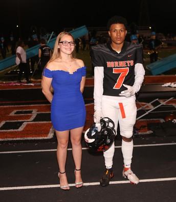 Haley Adams and Eric Freeman III