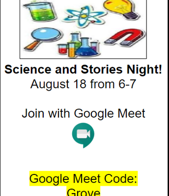 Science and Stories Night