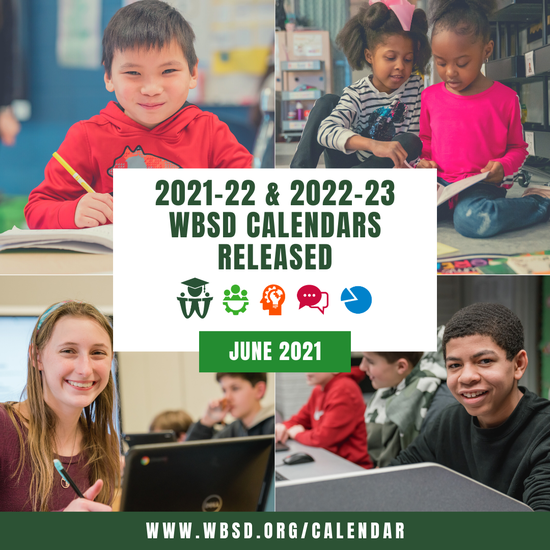 Download the next two school years' calendars at the following link.