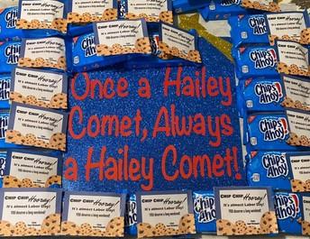 Thank You Hailey PTA