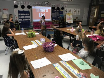 Ms. Robinson's 1st Grade Class