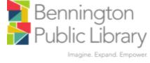 Bennington Public Library - Monthly Programs