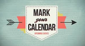 Upcoming Events & Dates