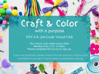 Craft & Color Club