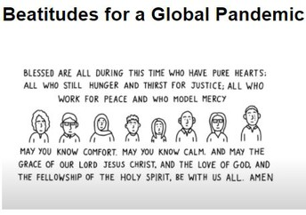 Beatitudes for a Global Pandemic