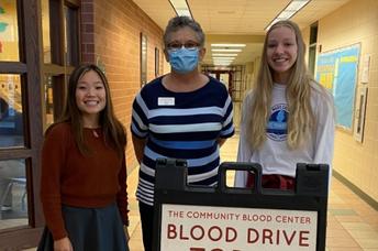 Zephyrs Give Back Through Key Club Blood Drive