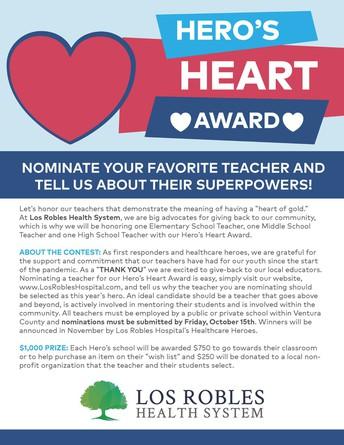 Hero's Heart Award