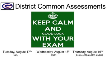 District Common Assessments