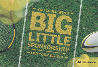 You Could Win A Big Little Sponsorship For Our School