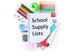 SWJH 2020-2021 School Supply List