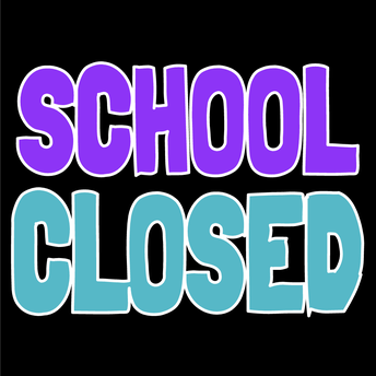 School Closed for Holidays