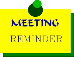 Annual Title I Meeting, Immediately following is the PTSA Meeting