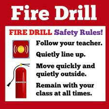 Fire Drill- September 9th