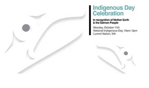 Indigenous People's Day Event Flyer