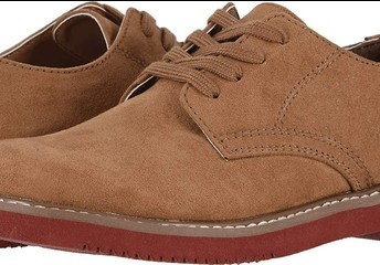 Suede Oxfords  (BROWN ONLY) Gr. 1-8