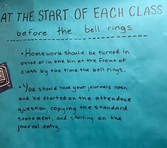 How to Start Each Class