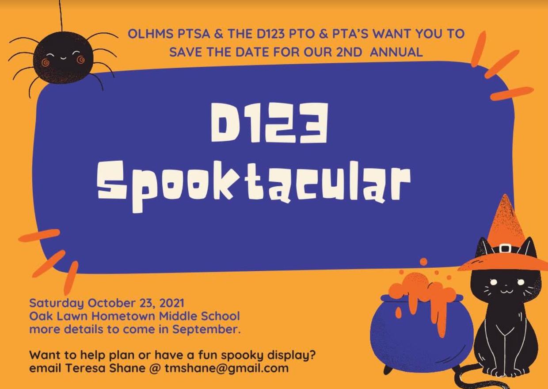 PTSA Spooktacular Flyer