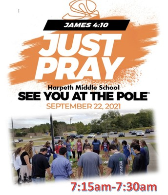 National Prayer at the Pole day!