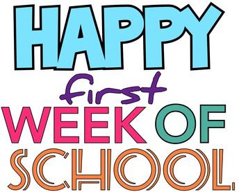 Happy First Week!!