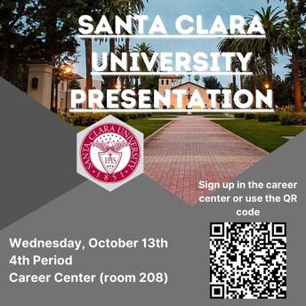 Santa Clara University Presentation