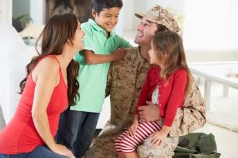 Recursos para familiares militares