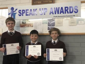 Speak Up Awards