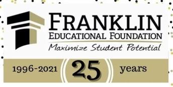 FRANKLIN EDUCATIONAL FOUNDATION EXCELLENT TEACHER AWARD RECIPIENTS ANNOUNCED!