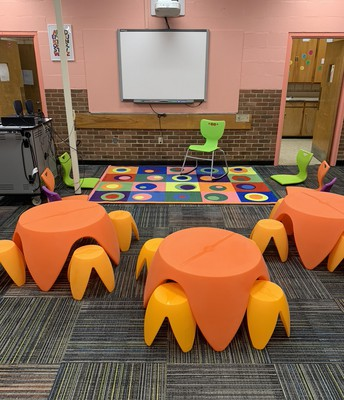 New furniture for primary scholars