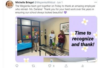 Thank You Ms. Darlene!