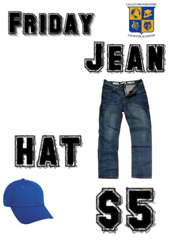 Student Jean and Hat Day 9/10