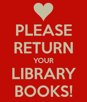 All Library Books Due Weds., June 2nd