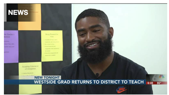 Westside Champion Returns To District To Teach, Inspire Future Warriors
