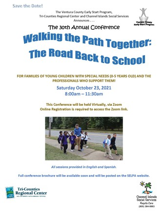 Save the Date: Walking the Path Together: The Road Back to School