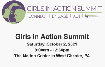 Girls in Action Summit on October 2nd