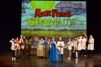 """SLP Theater's Production of """"Spamalot"""" receives Outstanding Overall Production Award"""