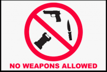 No Weapons of Any Kind