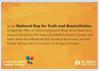 National Truth and Reconciliation Day - September 30