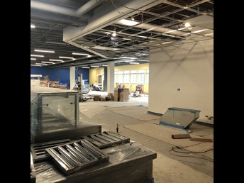 New Cafeteria at 195