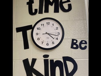 Time to be kind in 1st Grade!