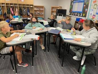 Fourth Grade Collaboration