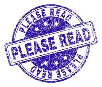 PLEASE TAKE NOTE!