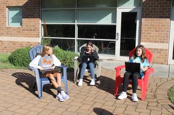 Class in the Courtyard