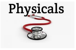 6th grade physicals due OCTOBER 15, 2021